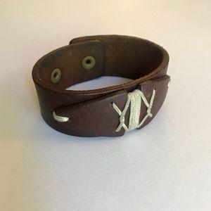 Leather Dominican Republic Vintage Bracelet